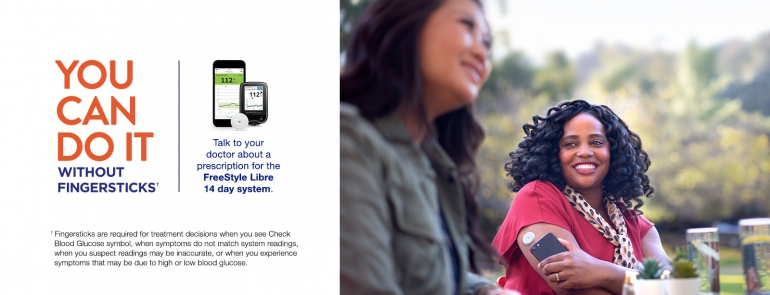 Image of woman who uses the Libre.